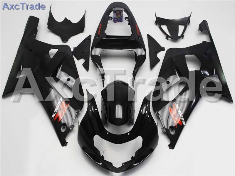 Комплекты мотоцикл Обтекатели для Suzuki GSXR системы GSX-Р 600 750 GSXR600 GSXR750 2001 2002 2003 К1 пластичной Впрыски ABS обтекатель комплект A272