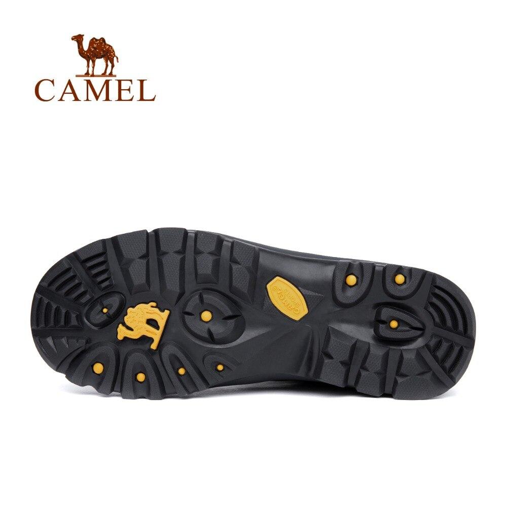 Image 3 - Мужские и женские беговые кроссовки CAMEL, кожаные Нескользящие  дышащие треккинговые кроссовки для альпинизмаhiking shoesmen hiking  shoesshoes hiking