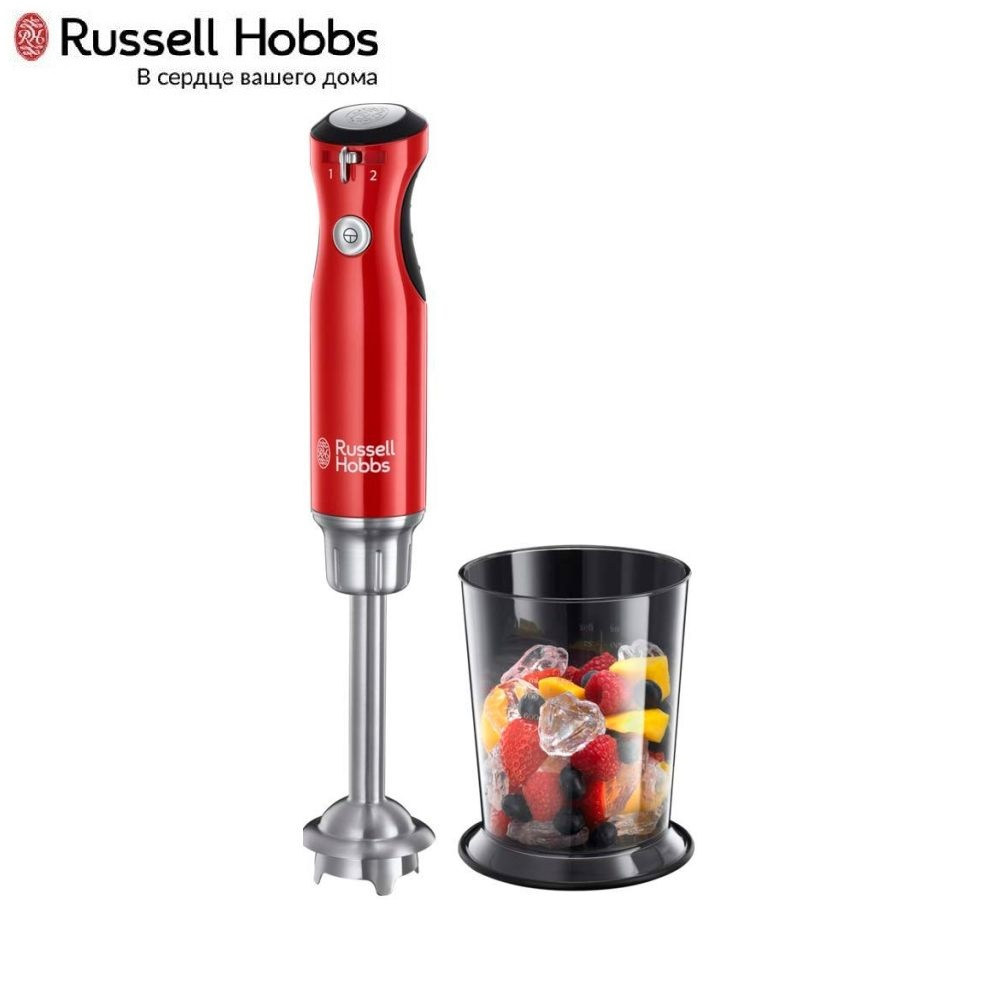 Blender submersible Russell Hobbs 25230-56 Blender smoothies kitchen Juicer Portable blender kitchen Cocktail shaker Chopper Electric Mini blender blender 500w