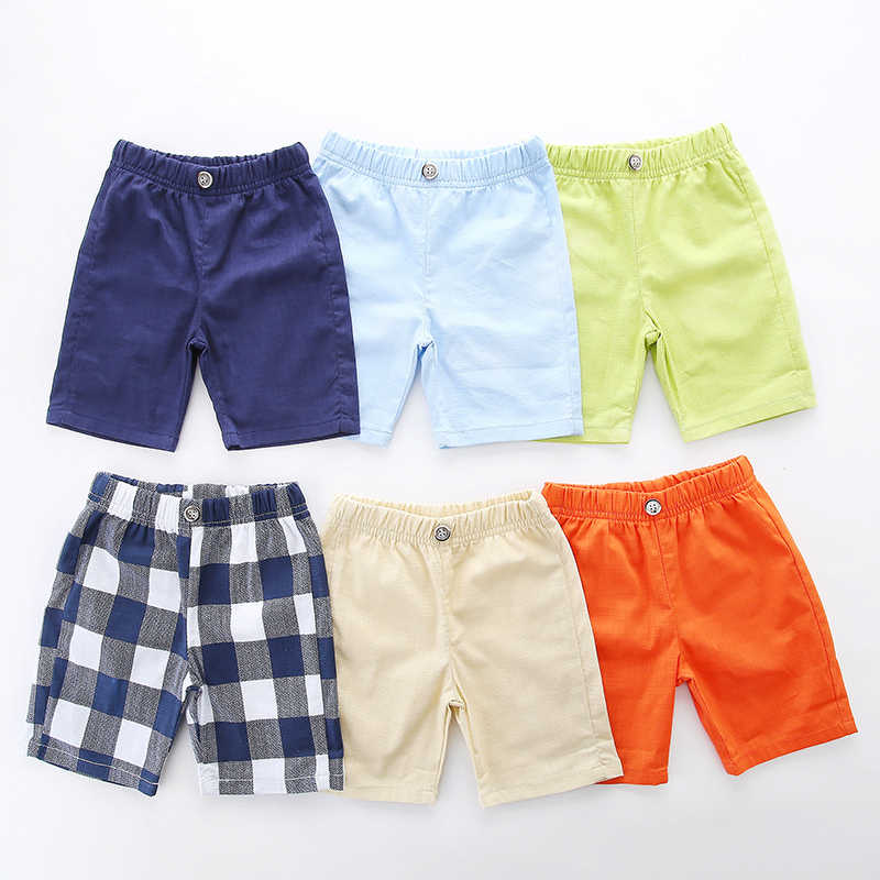 linen children's short Thin Boy Pants Summer boys' Shorts trousers 6 Colour  Boy clothes toddler Kids clothing 2 To 7 Year Shorts|Shorts| - AliExpress