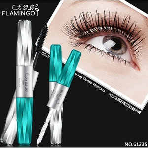 Free Shipping China Top Brand 2018 NEW Flamingo Mascara Curling & Lengthening Waterproof Easy to Wear Long Lasting Mascara 61335