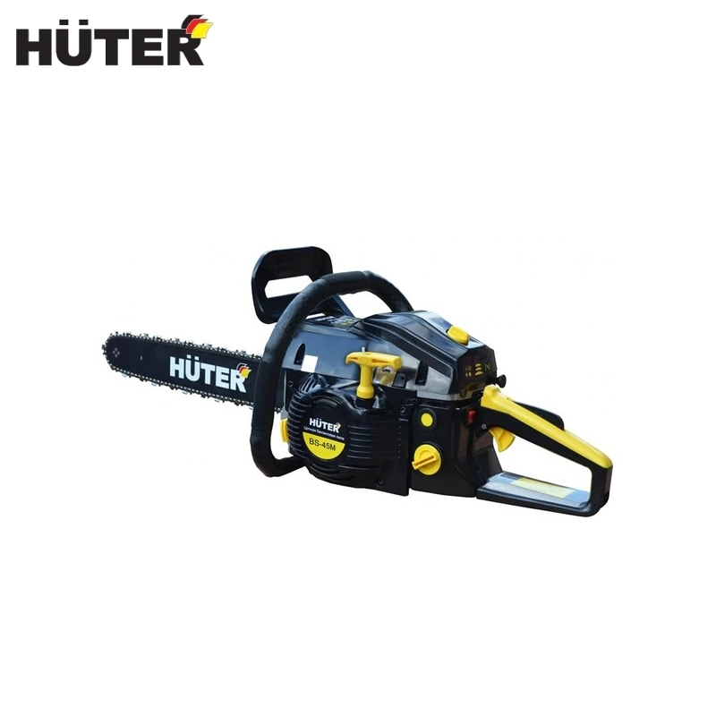 Us 72 75 Petrol Chainsaw Huter Bs 45m Chain Saw Petrol Driven Power Saw Petrol Powered Saw Motopila Bole Cutting Motor Saw In Chainsaws From Tools