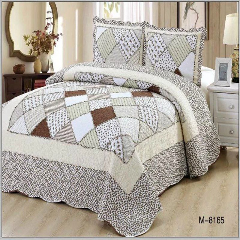 Patchwork Bedspread Plaid Cotton Quilted King Size Ruffled Bedspread Pieces Pillowcase 220*240  160*210 Size Blanket Sheet DuvetPatchwork Bedspread Plaid Cotton Quilted King Size Ruffled Bedspread Pieces Pillowcase 220*240  160*210 Size Blanket Sheet Duvet
