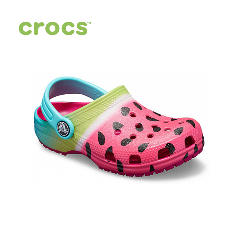 цены CROCS Classic Ombre Graphic Clog K KIDS or boys/for girls, children, kids TmallFS shoes