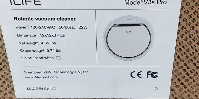 ILIFE V3s Pro Robot Vacuum Cleaner Home Household Professional Sweeping Machine for Pet hair Anti Collision Automatic Recharge