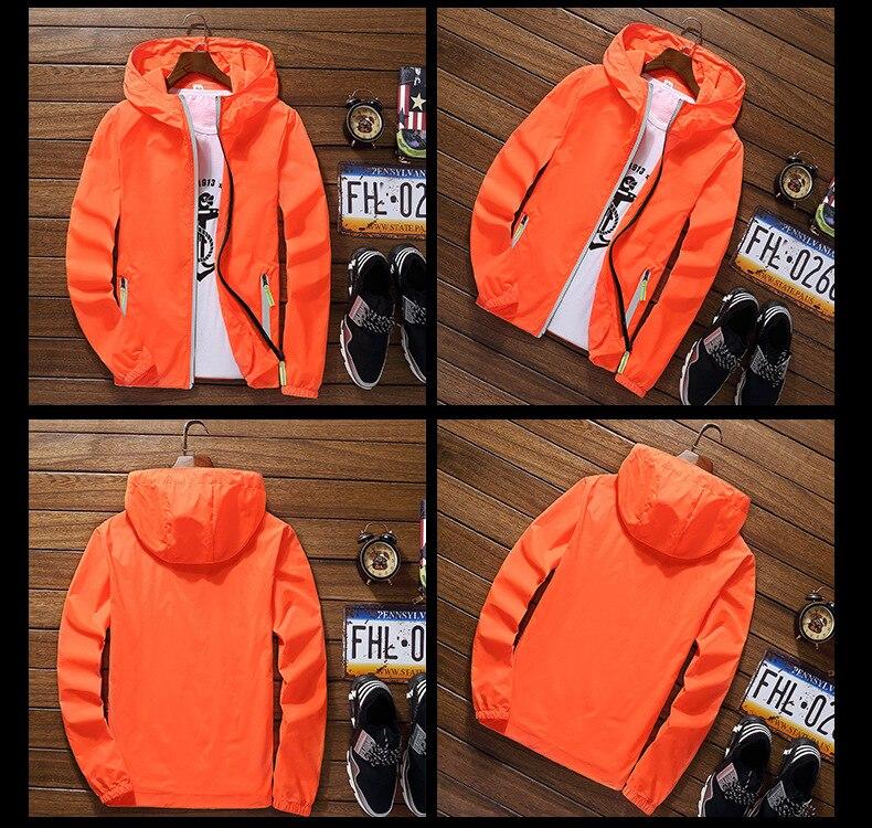 UTB8U234ySnEXKJk43Ubq6zLppXaj 2019 Ultra-Light Men's Summer Hooded Jacket Super-Thin Windbreaker Packable Skin Coat Sunscreen Waterproof Beach Casual Jackets