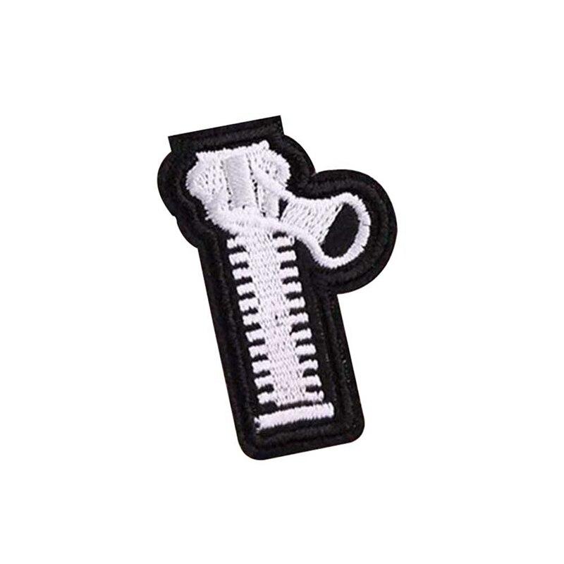 6 шт./компл. в форме молнии вышитые патч железа и завязками на банте, симпатичными аппликациями патч к ткани одежде с помощью туфель и сумки для художественного оформления ногтей, ручная работа патчи
