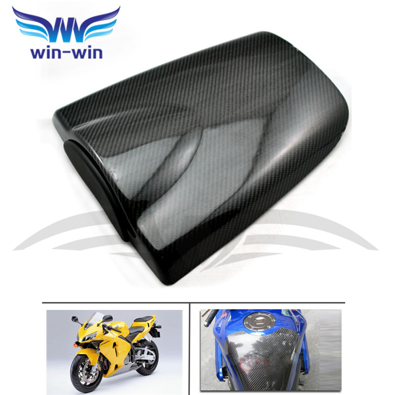 motorcycle accessories black color caron fiber fuel gas tank protector pad shield rear carbon fiber for honda CBR 600 RR 03-06 for ktm 390 duke motorcycle leather pillon passenger rear seat black color
