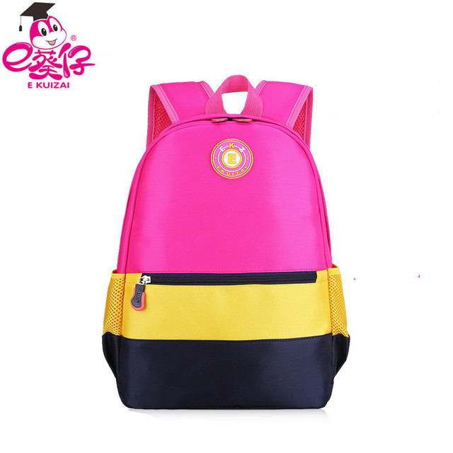 99a0d05fcc14 US $35.88 |School children backpack cute girl princess schoolbag waterproof  children bag school boy bag candy color bag Q3-in School Bags from Luggage  ...