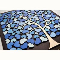 Guest book Wedding Guest Book Blue Tree of Life Rustic Wedding Decoration Romantic Wedding Welcome Sign In Guestbooks