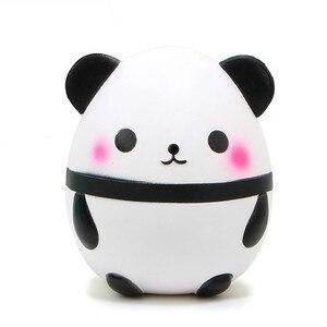 15 cm Hot Panda Jumbo Kawaii Mole Colecionáveis Boneca Dos Desenhos Animados Doce Perfumado suave Lento Aumento divertido Squeeze brinquedos coleções presentes
