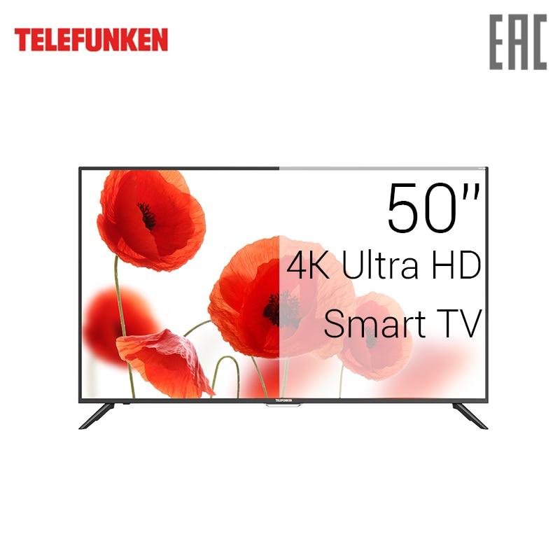 TV LED Telefunken 50 TF-LED50S60T2SU 4K UHD SmartTV 5055inchTV 2018 newmodel tv led lg 43 43uk6390plg 4k uhd smarttv 4049inchtv