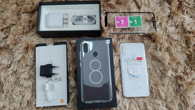 """Orinigal глобальной прошивки Xiaomi Mi 8 Snapdragon 845 6 ГБ Оперативная память 64 ГБ Встроенная память Octa Core 6,21 """"2148x1080 P мобильного телефона Поддержка оты"""