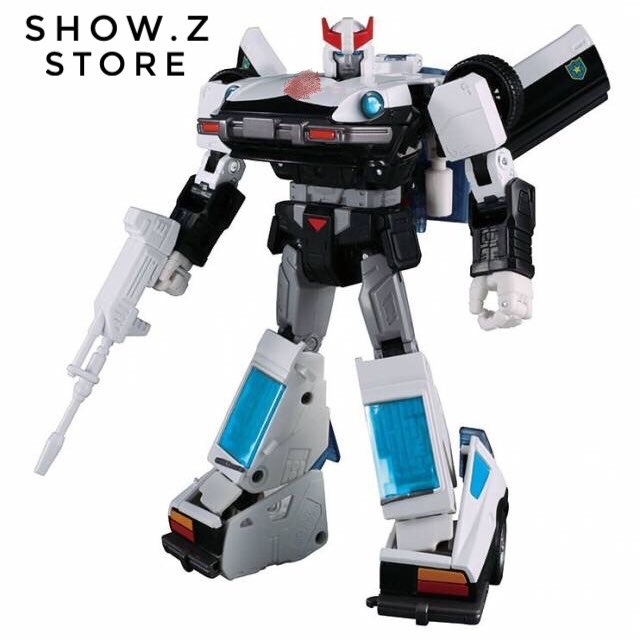 [HotSale][Show.Z Store] Original Masterpiece MP-17+ MP17+ Prowl Anime Color Transformation Action Figure