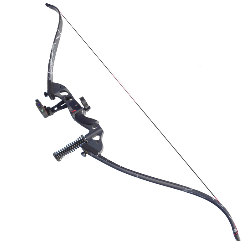 60 inch Archery Recurve Bow Composite Materials Draw Weight 35-45lbs Archery Bow Set Arrow Rest Bow Sight And Stabilizer Hunting dmar archery quiver recurve bow bag arrow holder black high class portable hunting achery accessories
