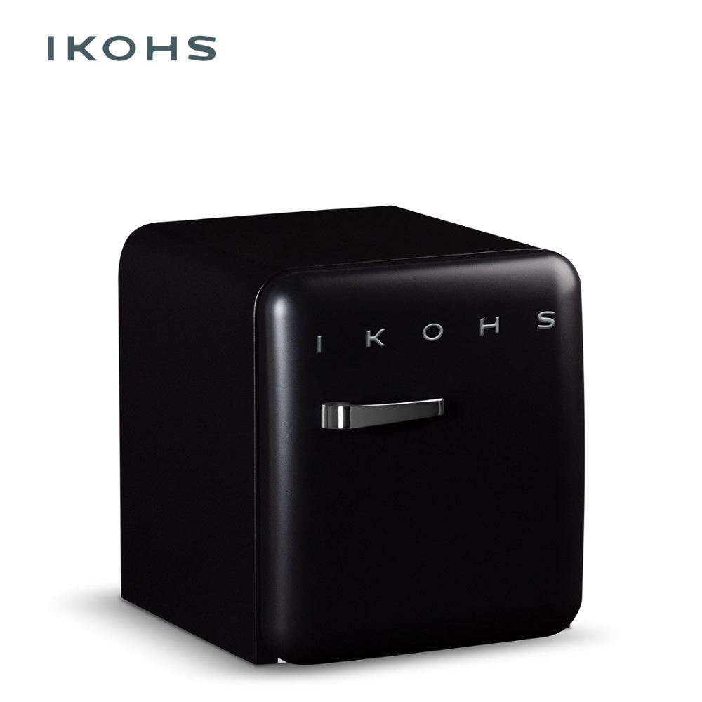 IKOHS - RETRO FRIDGE 50 - BLACK