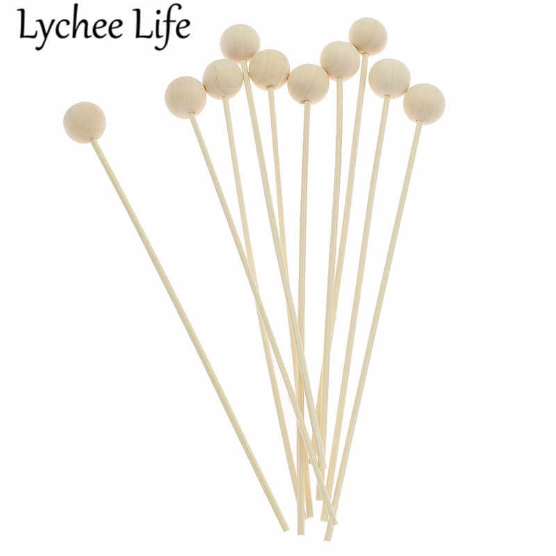 10pcs 3mm Reed Diffuser เปลี่ยนรอบไม้หวาย Reed Diffuser Refill Stick DIY Handmade Home Decor