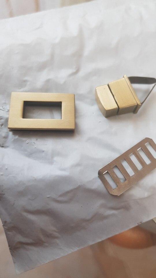FGGS-New Rectangle Shape Clasp Turn Lock Twist Lock DIY Lederen Handtas Tas Hardware photo review