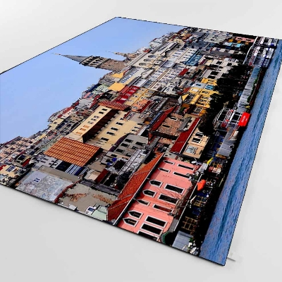 Else Istanbul Sea Bosphorus View OttomanTurkish 3d Print Non Slip Microfiber Living Room Decorative Modern Washable Area Rug Mat