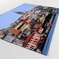 Sonst Istanbul Meer Bosporus Ansicht OttomanTurkish 3d Print Non Slip Mikrofaser Wohnzimmer Dekorative Moderne Waschbar Bereich Teppich Matte