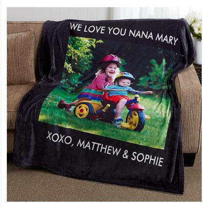 Print on demand, Dropshipping Picture Perfect Personalized Fleece Photo Blanket 4