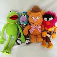 38 CM big size The Muppet peluche Kermit la Rana, Fozzie Orso, Animale, Gonzo farcito giocattoli per i bambini bambole giocattolo