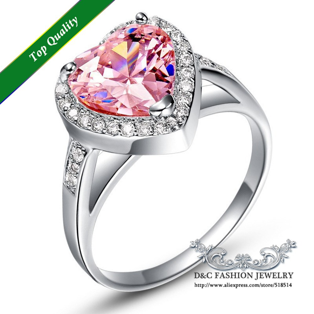rings wedding ring royalty pink heart ruby with image free shaped vector