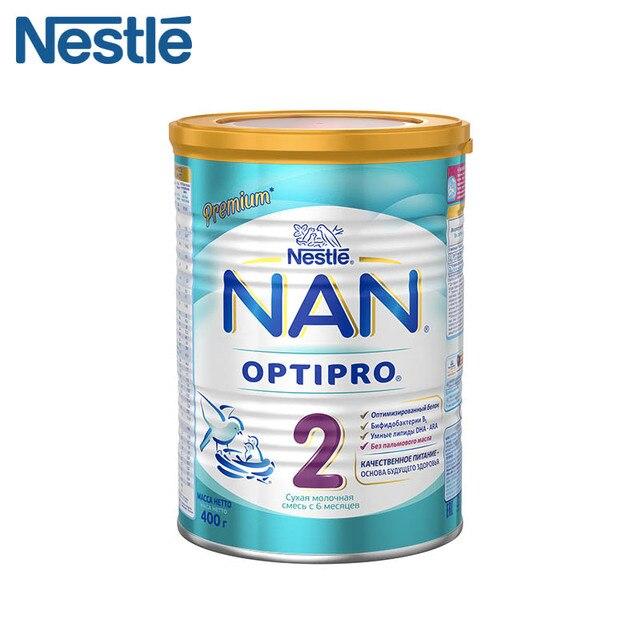 Детская Смесь NAN 2 Optipro (Nestle) с 6 месяцев 400г