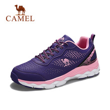 CAMEL Women Running Shoes Fashion Lightweight Breathable Shock Absorption Autumn