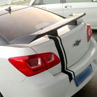For Chevrolet Cruze universal Spoiler ABS Material Car Rear Wing Primer Color Rear Spoiler For Chevrolet Cruze Spoiler 2009+