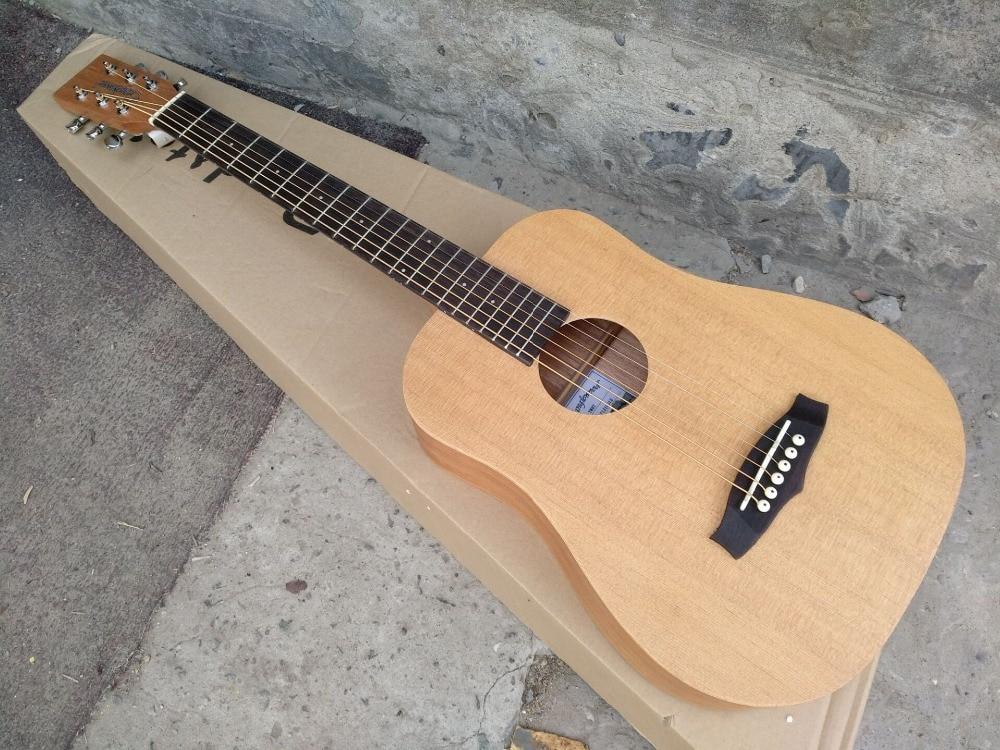 Livraison gratuite NOUVEAU meilleur OEM prix enfant guitare Tanglewood TWRT Acoustique Guitare Voyageur mini portable acoustique guitare voyage