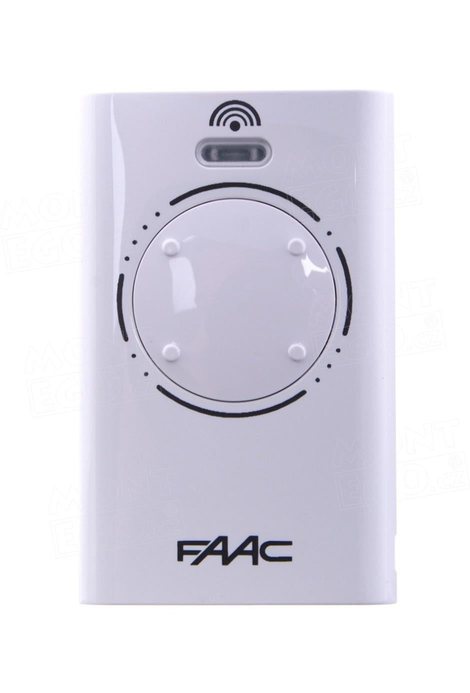 Kit 10 Pieces. Remote Control FAAC-4 XT4868MHz