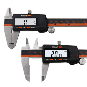 Image 4 - Stainless Steel Digital Display Caliper 150mm Fraction / MM / Inch High Precision Stainless Steel LCD Vernier Caliper
