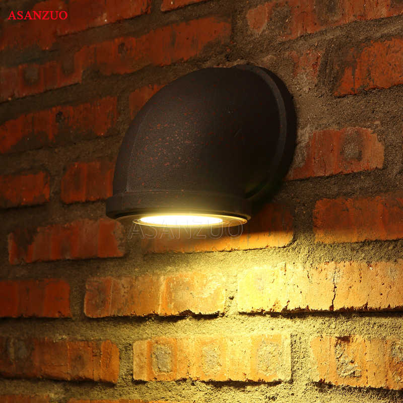Ретро Лофт настенный светильник промышленность водопровод винтажные железные светильники бар Спальня Кабинет лестницы клуб гостиная коридор лампа для кафе бюстгальтер