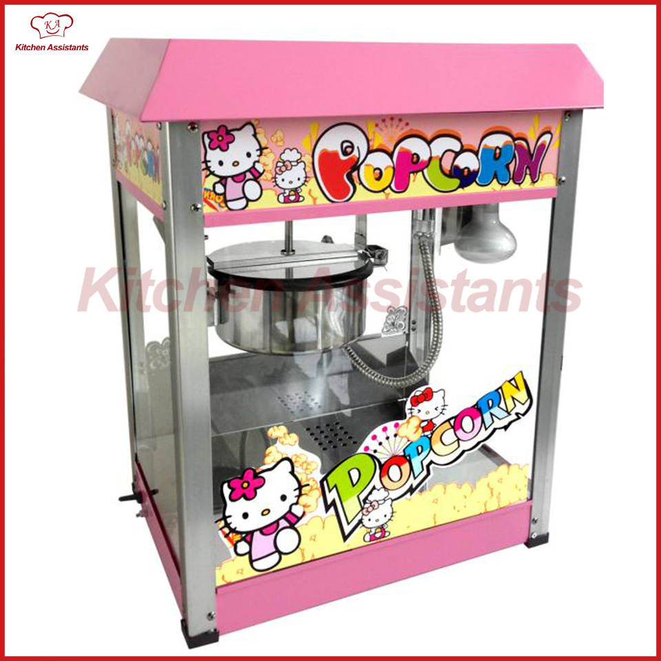 VBG1808 8OZ Popcorn Machine Maker Machine for cinema supermarket vbg1708 professional automatic popcorn machine maker with big volume 8oz series