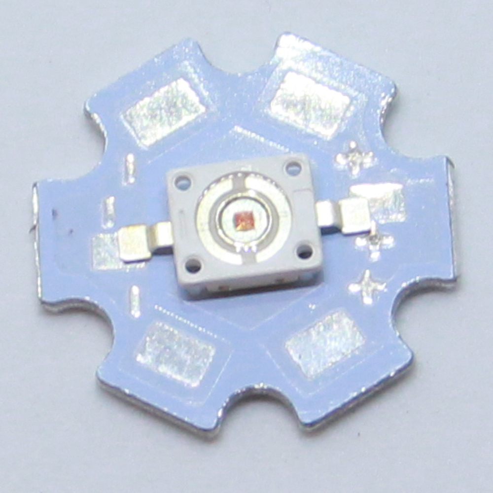 10PCS Imitation of Osram high power LED 6070 3W red light 620NM 625NM 90-100LM lighting led bulb flashlight LED light bar