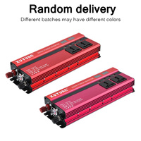 4000W/5000W Solar Car Power Inverter LED DC12/24V to AC110/220V Sine Wave Converter 4 USB Interfaces