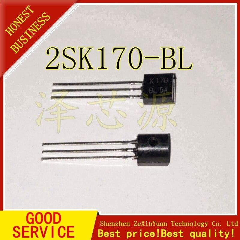 10PCS/LOT 2SK170-BL 2SK170BL 2SK170 K170 Transistor TO-92 Triode Transistor Low Power Transistor