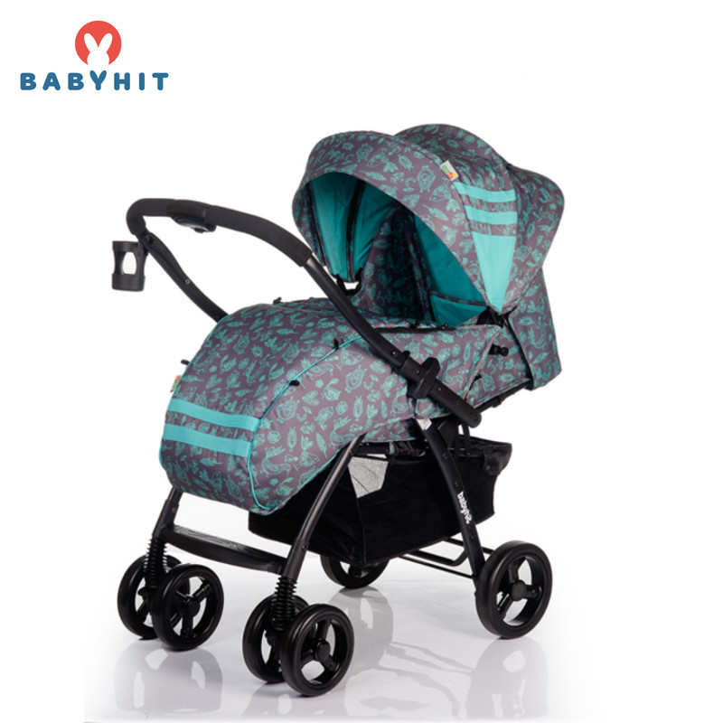 Four Wheels Stroller BabyHit CRUISE Kidstravel four wheels stroller babyhit travel air kidstravel