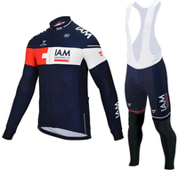 Outdoor Sports Bicycle Cycling Clothing Pant Jersey Suit Sets Men Road Bike Set Cycling Jersey Long MTB 9d GEL Padded Shorts