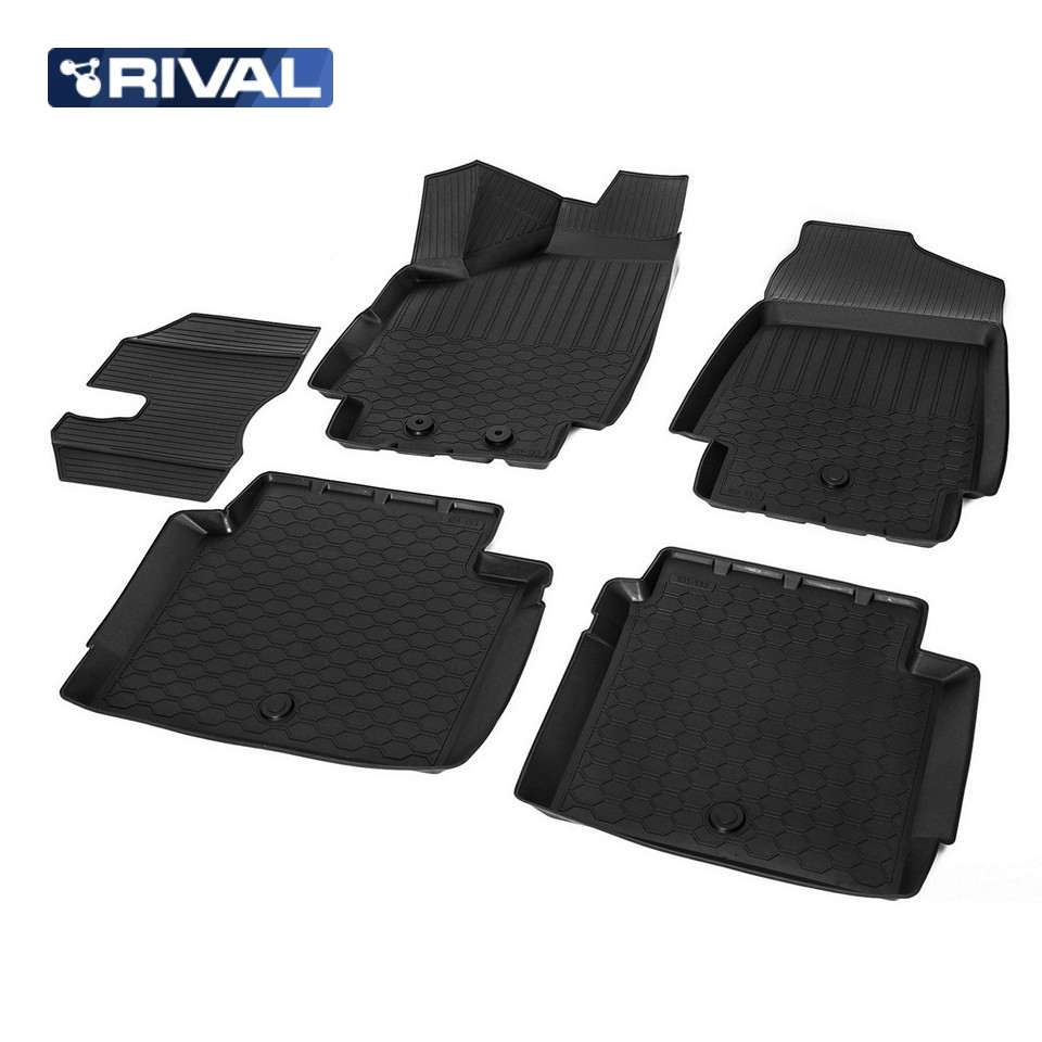Para Lada Niva 4x4 3-portas 2121 3D tapetes em saloon 5 pçs/set Rivalizar Com 16005004