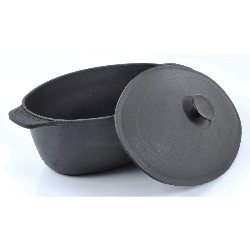 Cast-iron Casserole With  Handle  Grill  Coffee Pot Bowler Pan Frying Pan Mug 0606
