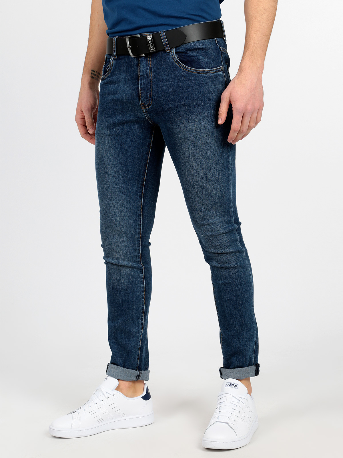 5 Pockets Jeans Straight Leg