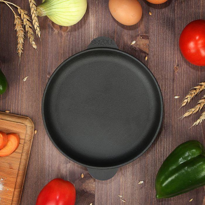Cast Iron Frying Pan With 14/16*2.5 Cm.  Caucasian Grill  Coffee Pot Bowler Pan Frying Pan Mug H14/16/1825