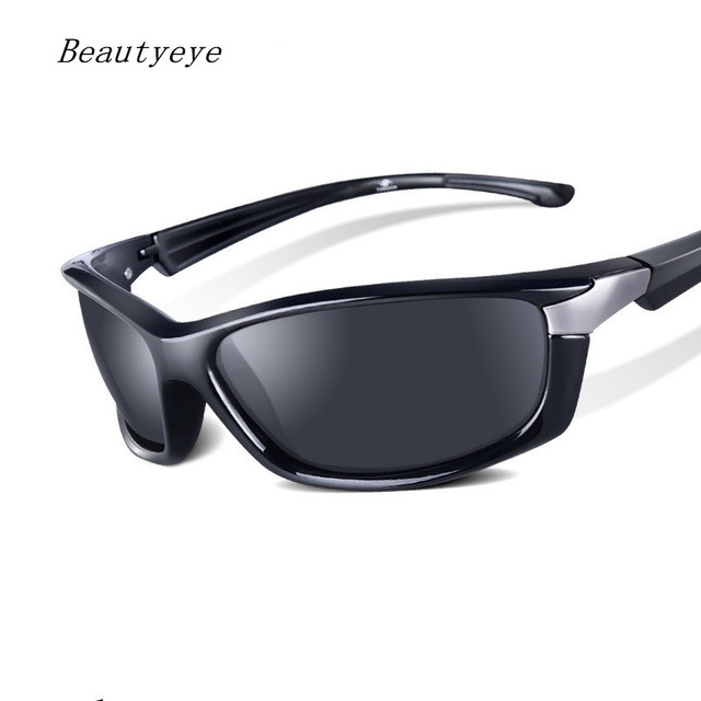 ac98a8f378 Beautyeye Brand Men s Polarized Sunglasses Rectangle Driving Glasses Mirror Sports  Mens Sun Protection Glasses For Men UV400