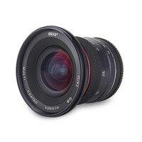 Майке 12 мм f/2,8 Ultra Широкий формат фиксированный объектив для sony Альфа и Nex беззеркальных E Mount Камера A7 A7S A7R II A9 A7III A7RIII