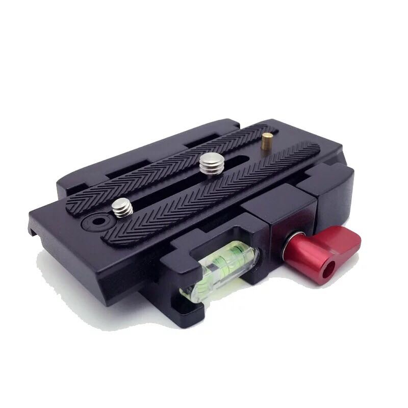 2pcs Photography 577 Rapid Connect Adapter Camera Quick Release Plate Compat Manfrotto 577/501PL/500AH/701HDV/561B