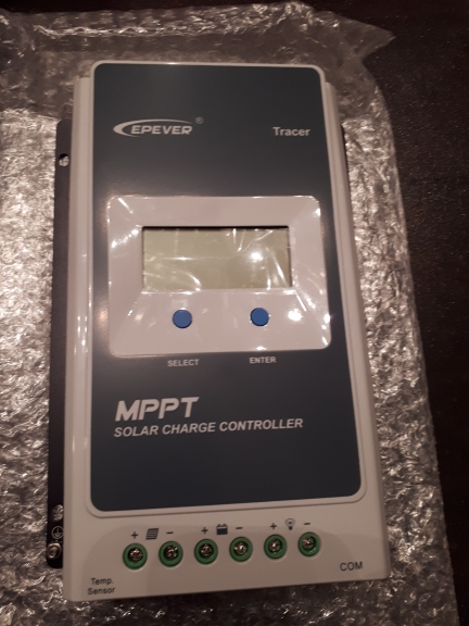 EPever MPPT 40A/30A/20A/10A Solar Charge Controller Black