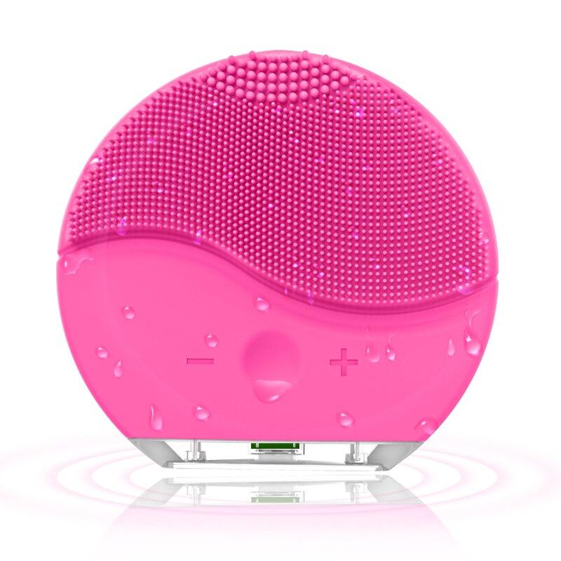 Elektrische Silikon Gesichts Reinigung Pinsel sonic Vibration Massage USB Aufladbare Smart Ultra sonic Gesicht Reiniger Schönheit Werkzeug