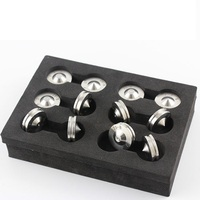 6pcs Audio suspension nails Amplifier / tube amplifier / floor speaker tripod damping pad 304 stainless steel feet